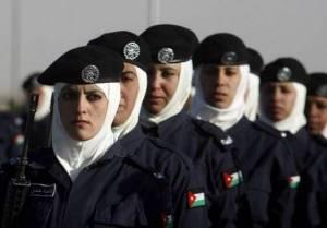 Female Police in Jordan