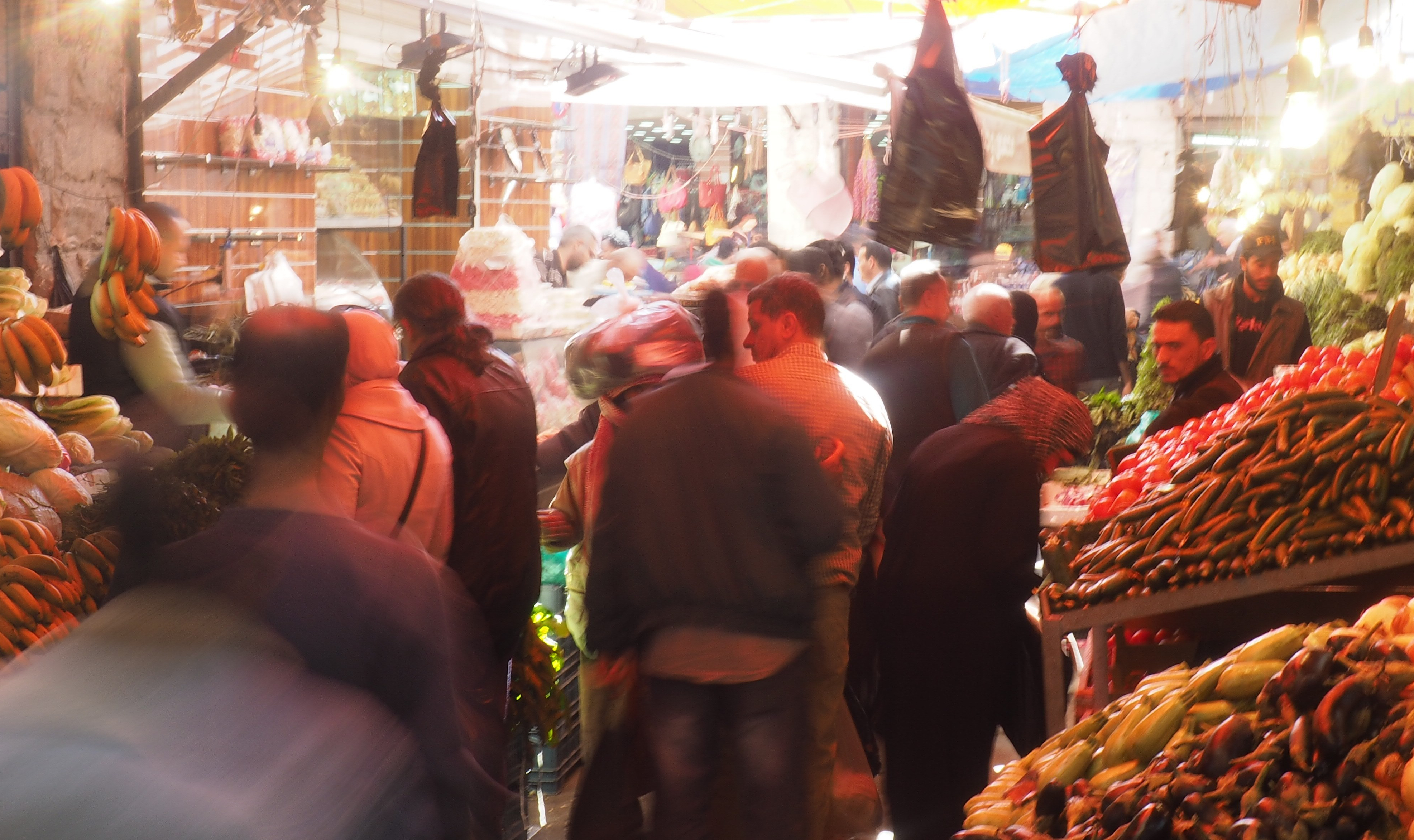 Amman's Fruit Market