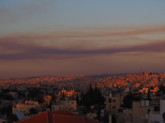 Beauty from destruction - Fire, Amman 17.6.17