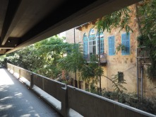 Heritage abuts concrete